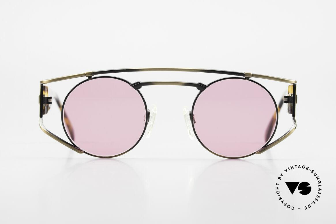 Neostyle Superstar 1 Steampunk Sonnenbrille Pink, der Name sagt im Prinzip schon alles: SUPERSTAR, Passend für Herren und Damen