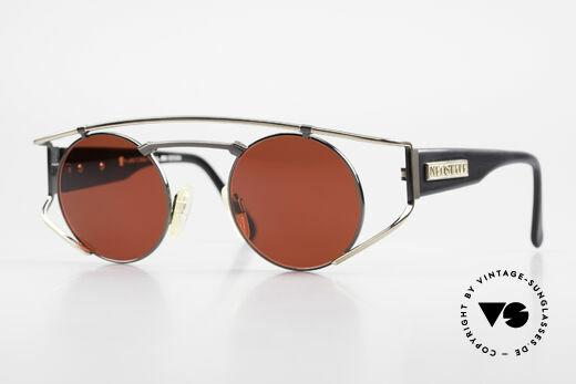 Neostyle Superstar 1 Steampunk Sonnenbrille 3D Rot Details