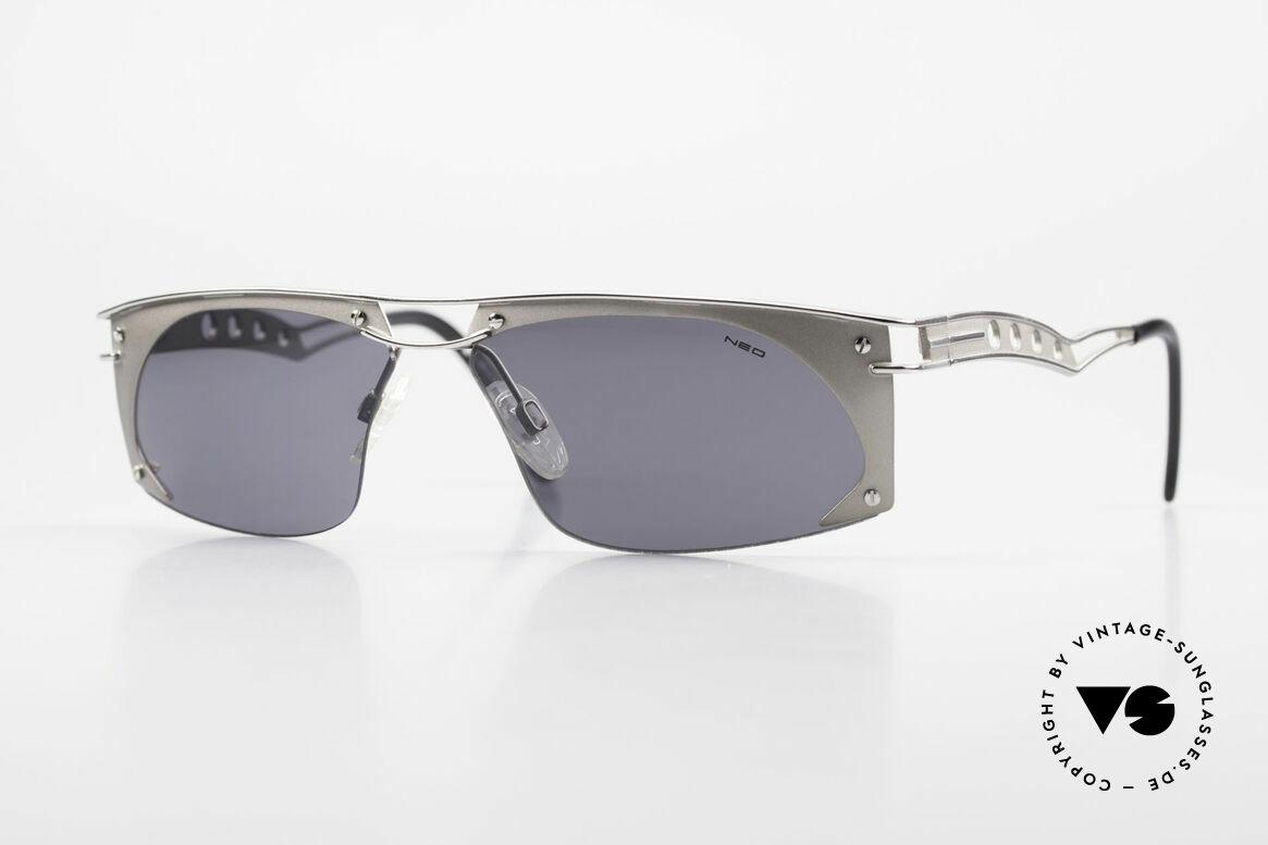 Neostyle Holiday 968 Steampunk Sonnenbrille 90er, außergewöhnliche Neostyle Sonnenbrille der 90er, Passend für Herren