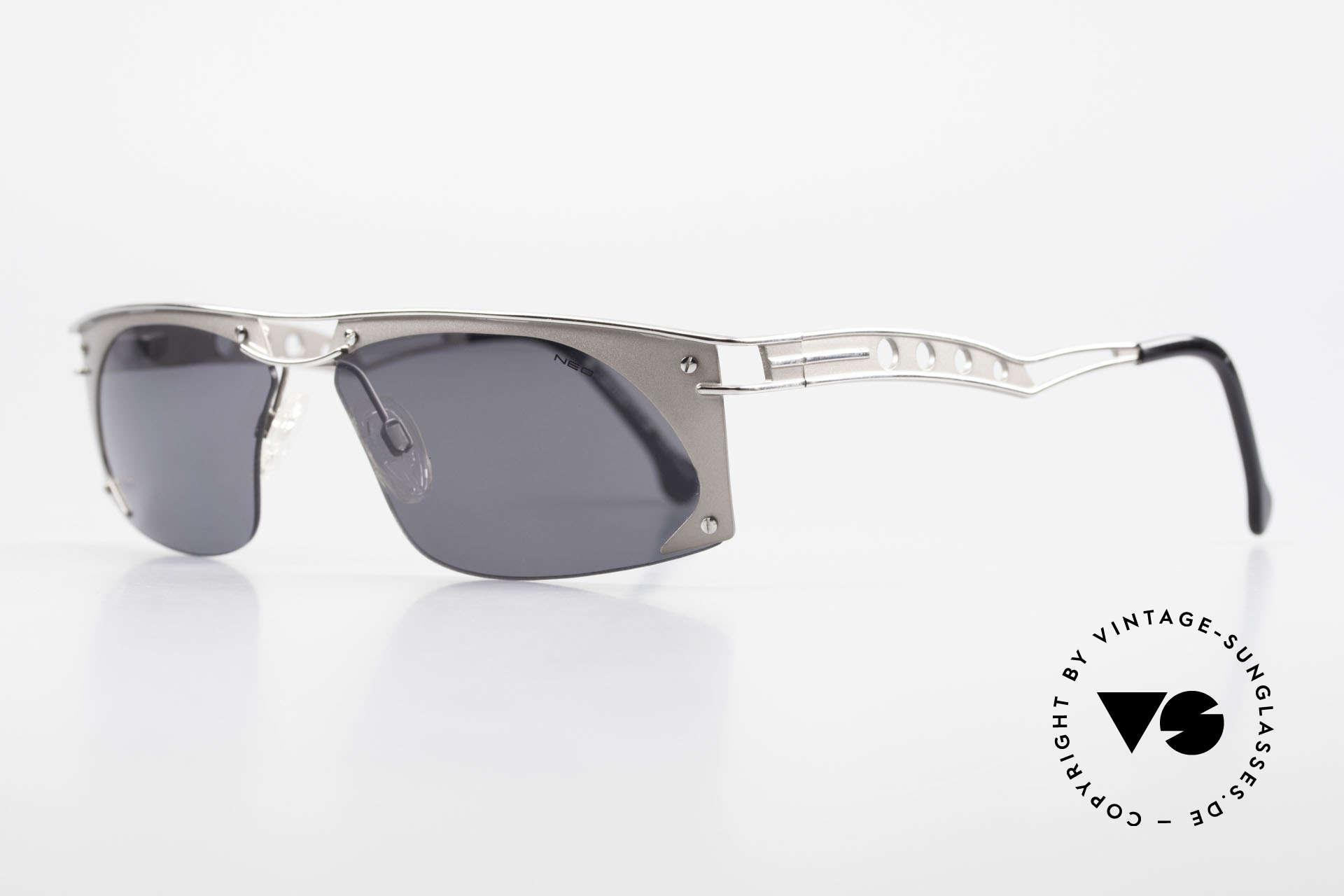 """Neostyle Holiday 968 Steampunk Sonnenbrille 90er, gerne als """"STEAMPUNK-Sonnenbrille"""" bezeichnet, Passend für Herren"""