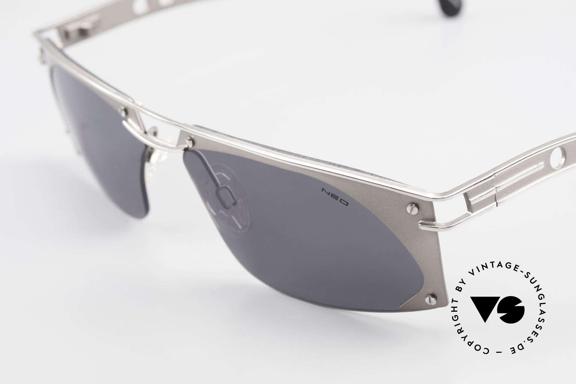 Neostyle Holiday 968 Steampunk Sonnenbrille 90er, ungetragen (wie all unsere Neostyle Sonnenbrillen), Passend für Herren
