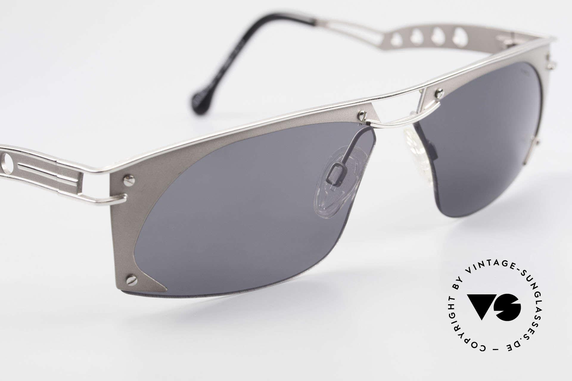 Neostyle Holiday 968 Steampunk Sonnenbrille 90er, KEINE Retrobrille, sondern ein ORIGINAL mit Etui, Passend für Herren