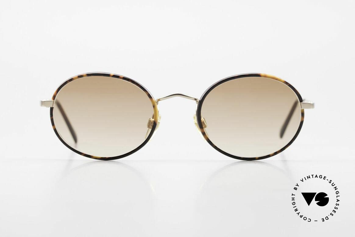 Giorgio Armani 235 Ovale Vintage Sonnenbrille, absoluter Klassiker in Farbe und Form; zeitlos elegant, Passend für Herren und Damen