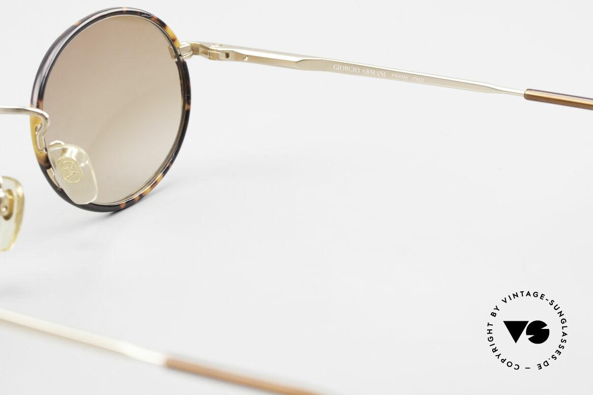 Giorgio Armani 235 Ovale Vintage Sonnenbrille, Größe: medium, Passend für Herren und Damen