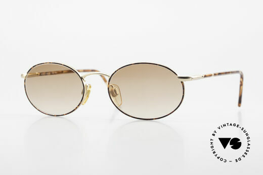 Giorgio Armani 192 Vintage Sonnenbrille Oval 80er Details