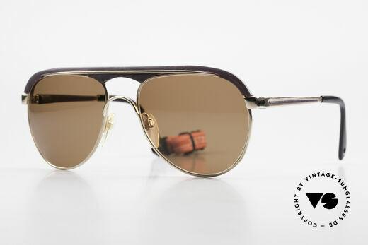 Metzler 0250 Echt 80er Sportsonnenbrille Details