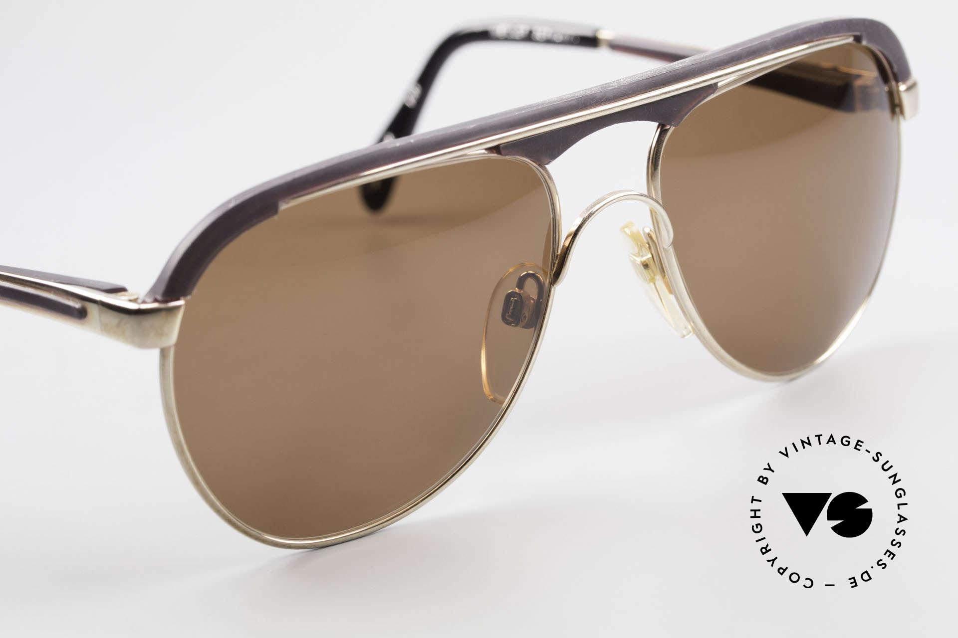 Metzler 0250 Echt 80er Sportsonnenbrille, KEINE RETRObrille; ein 35 Jahre altes ORIGINAL!, Passend für Herren