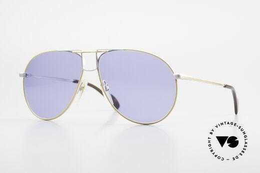 Metzler 0878 80er En Vogue Sonnenbrille Details