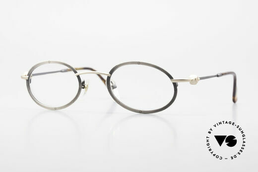 Aston Martin AM34 Vintage Brille Oval James Bond Details