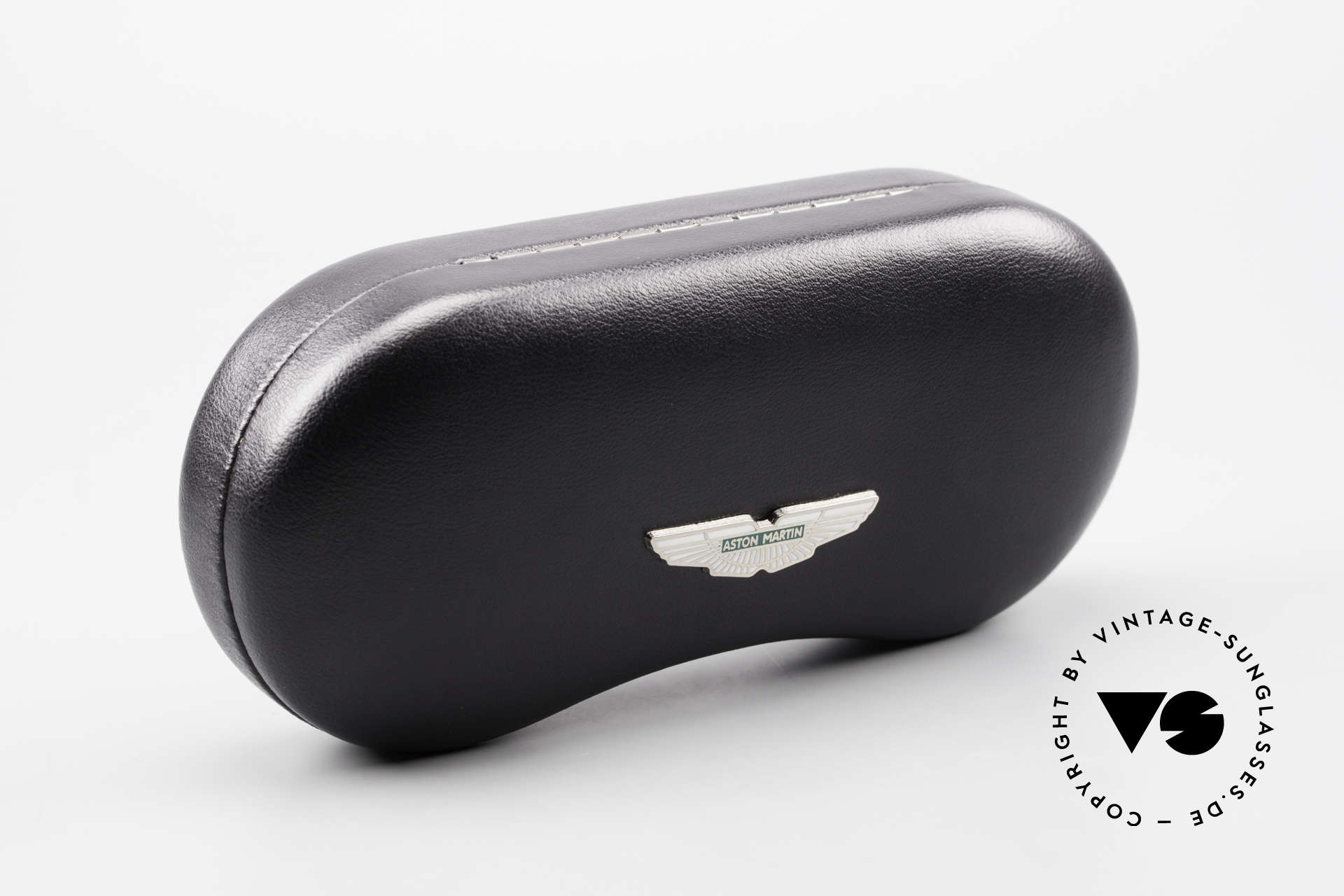 Aston Martin AM34 Vintage Brille Oval James Bond, Größe: medium, Passend für Herren