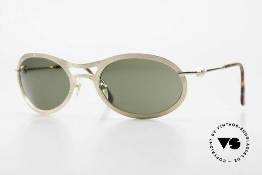 Aston Martin AM33 Sportliche Luxus Sonnenbrille Details