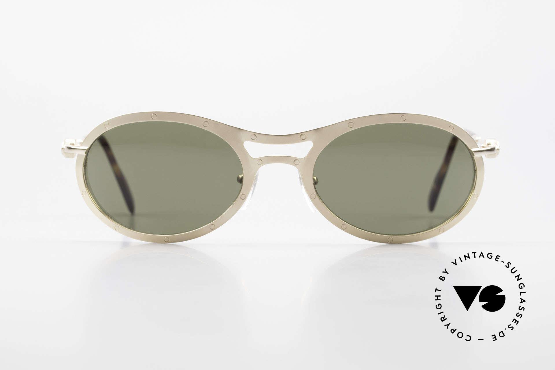 Aston Martin AM33 Sportliche Luxus Sonnenbrille, Accessoire zu den Nobel-Sportwagen aus Great Britain, Passend für Herren