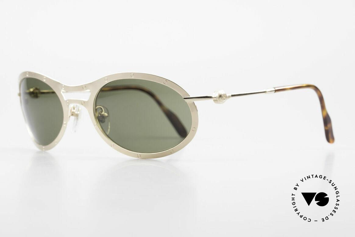 Aston Martin AM33 Sportliche Luxus Sonnenbrille, sportlich elegant für den Gentleman (James Bond Style), Passend für Herren