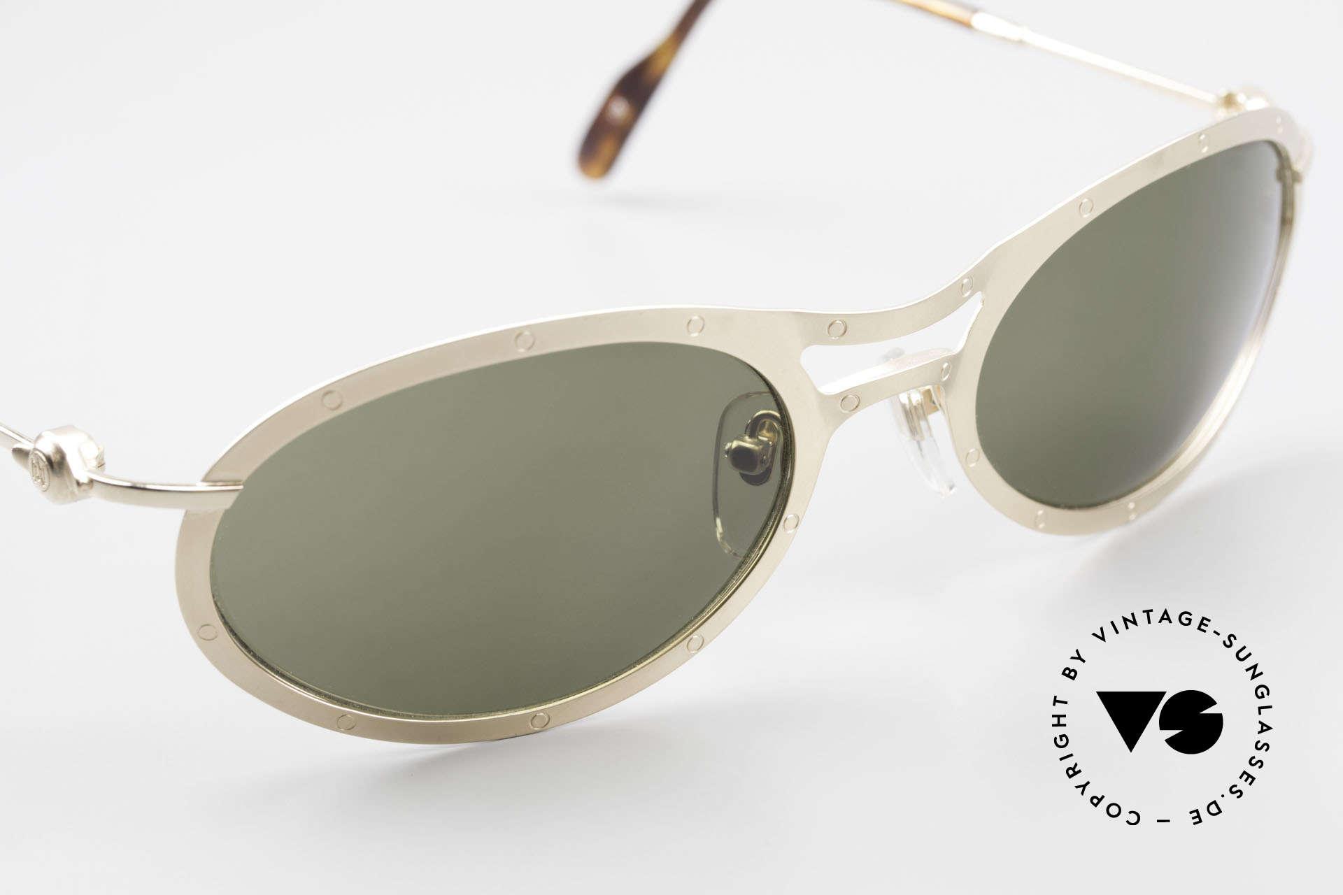 Aston Martin AM33 Sportliche Luxus Sonnenbrille, KEINE RETROdesign-Brille; ein 1990er Jahre ORIGINAL, Passend für Herren