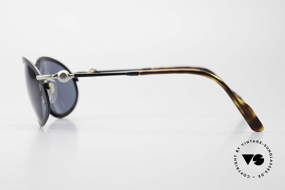 Aston Martin AM33 Wrap Around Sonnenbrille 90er, kostbares Unikat in TOP-Qualität (Polycarbonat-Gläser), Passend für Herren