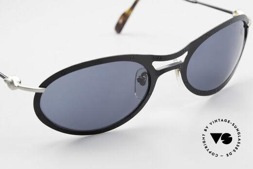 Aston Martin AM33 Wrap Around Sonnenbrille 90er, KEINE RETROdesign-Brille; ein 1990er Jahre ORIGINAL, Passend für Herren