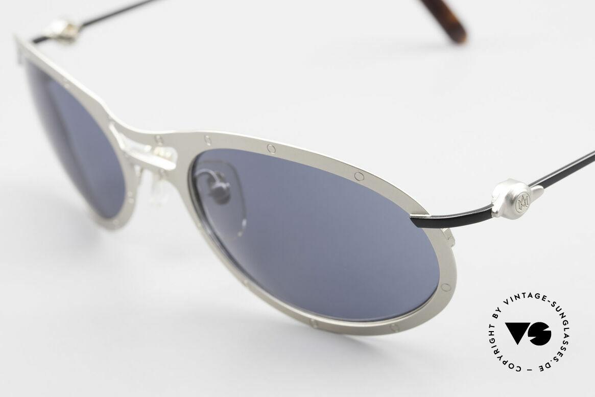 Aston Martin AM33 Sporty Herren Sonnenbrille, kostbares Unikat in TOP-Qualität (Polycarbonat-Gläser), Passend für Herren
