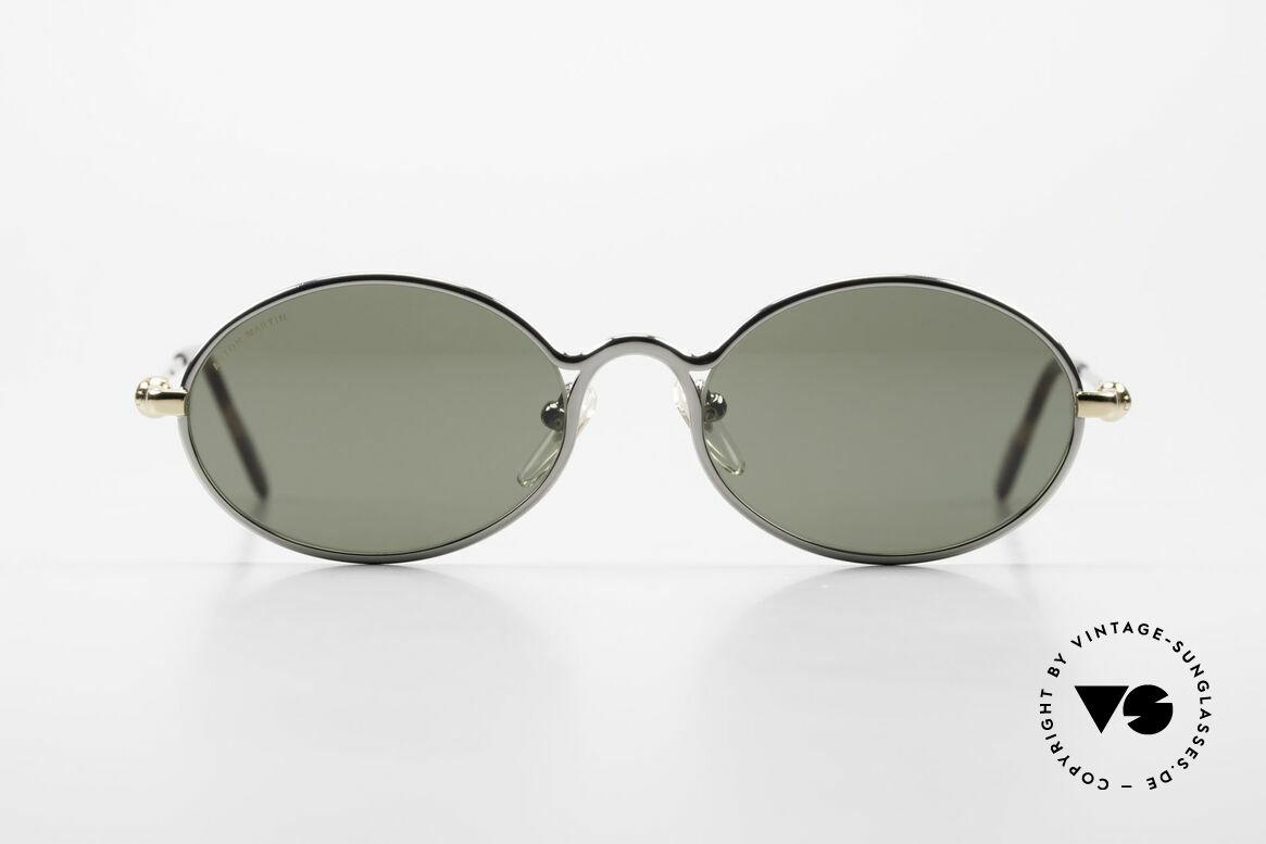 Aston Martin AM13 Ovale Brille James Bond Style, Accessoire zu den Nobel-Sportwagen aus Great Britain, Passend für Herren