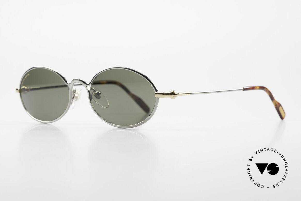 Aston Martin AM13 Ovale Brille James Bond Style, sportlich elegant für den Gentleman (James Bond Style), Passend für Herren