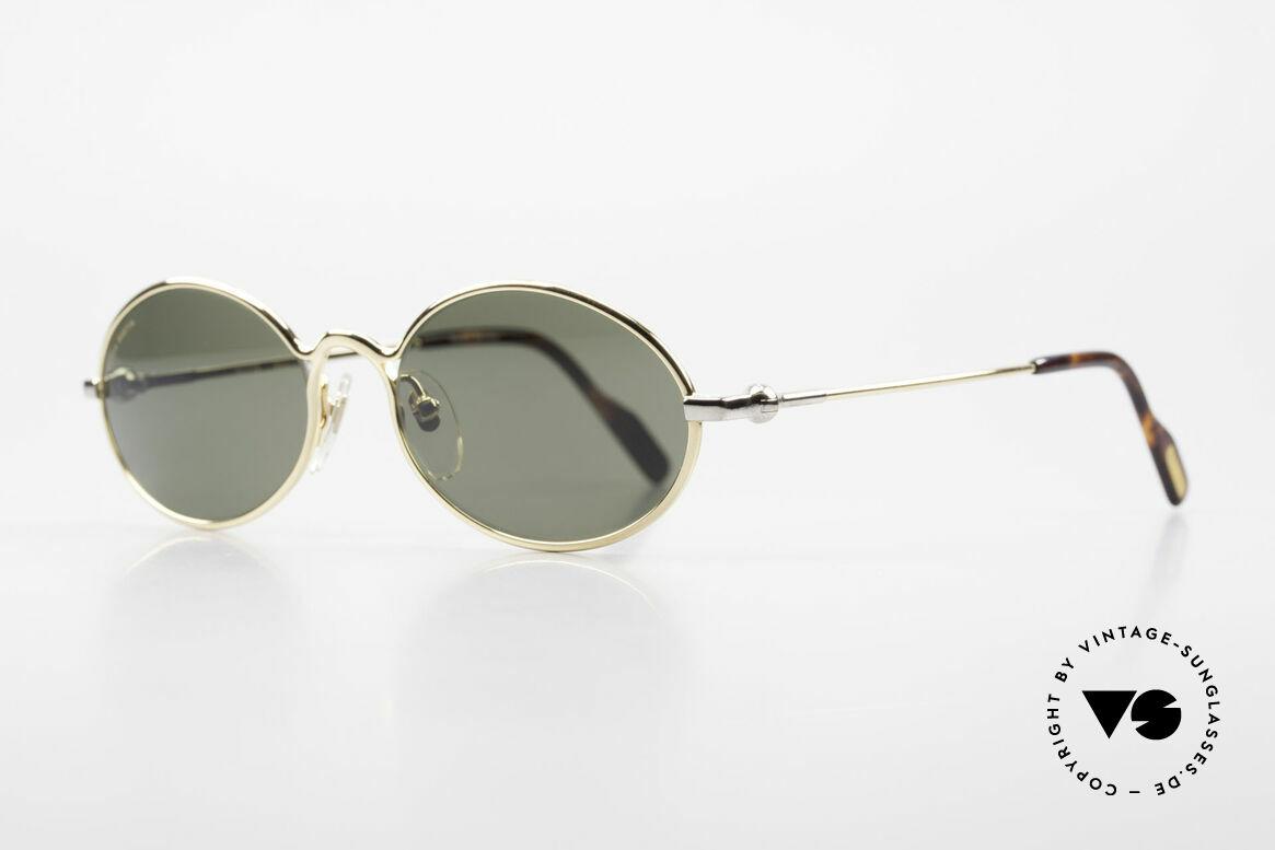 Aston Martin AM13 Ovale Sonnenbrille James Bond, sportlich elegant für den Gentleman (James Bond Style), Passend für Herren
