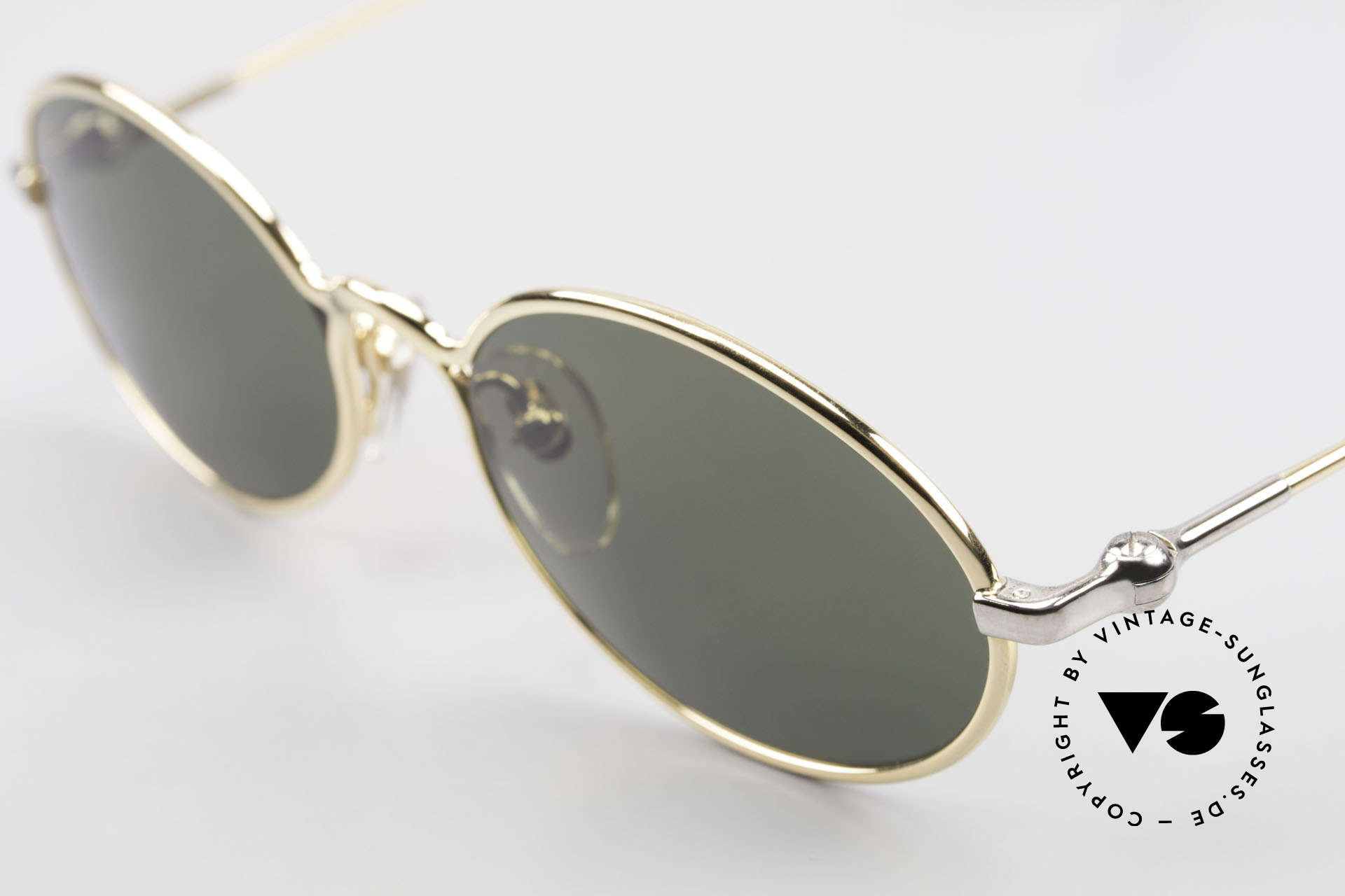 Aston Martin AM13 Ovale Sonnenbrille James Bond, kostbares Unikat (mit Seriennummer) in TOP-Qualität, Passend für Herren