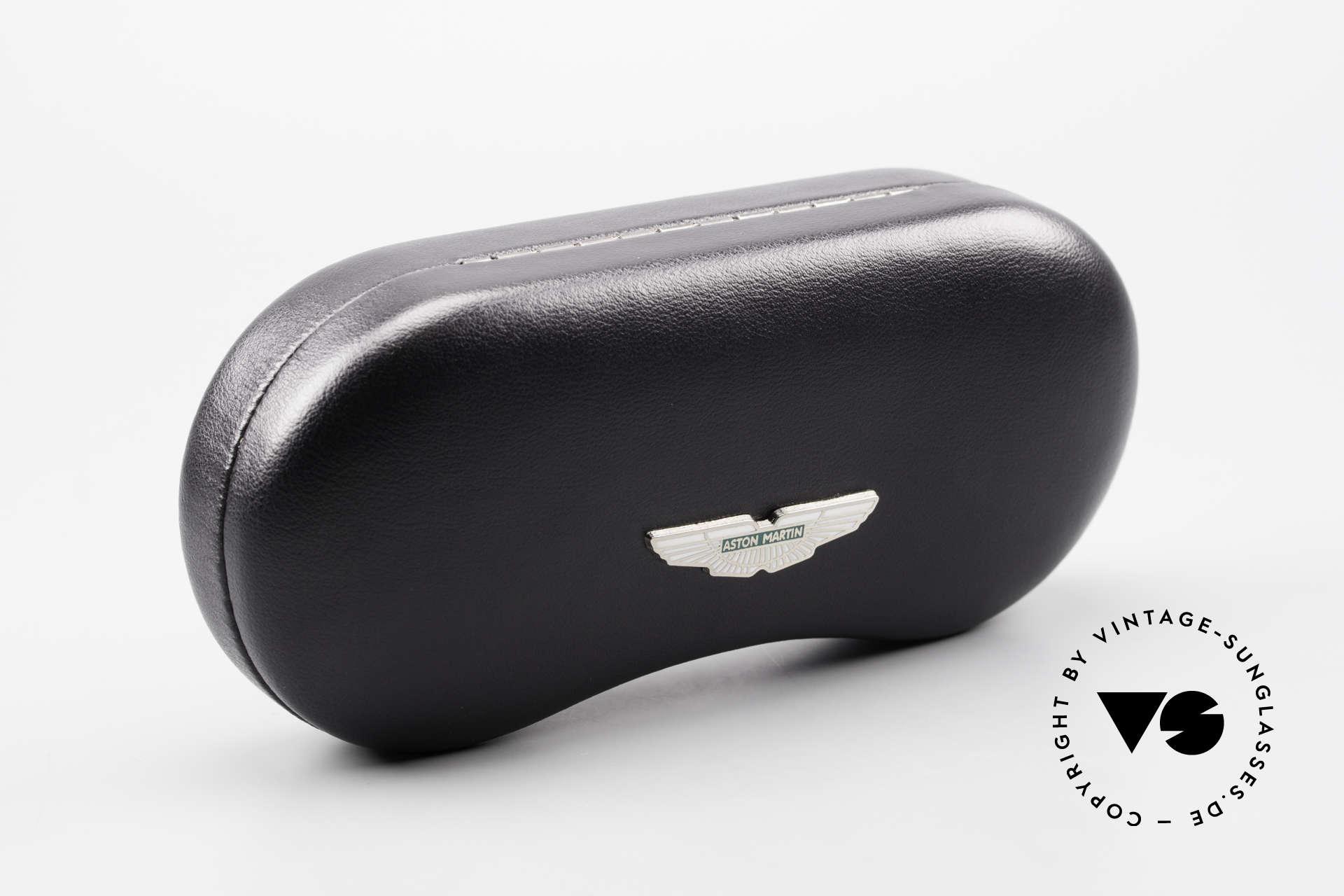 Aston Martin AM13 Ovale Sonnenbrille James Bond, ungetragenes Einzelstück in Gr. 52-17 (inkl. orig. Etui), Passend für Herren