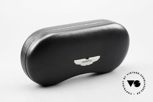 Aston Martin AM43 90er Brille Ergonomisch Oval, KEINE Retro-Designbrille; ein 1990er Jahre ORIGINAL, Passend für Herren