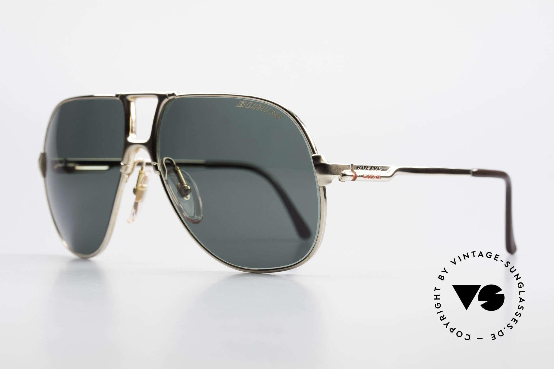 Boeing 5700 Große Alte 80er Piloten Brille, geniale Kombination von Funktionalität & Design, Passend für Herren
