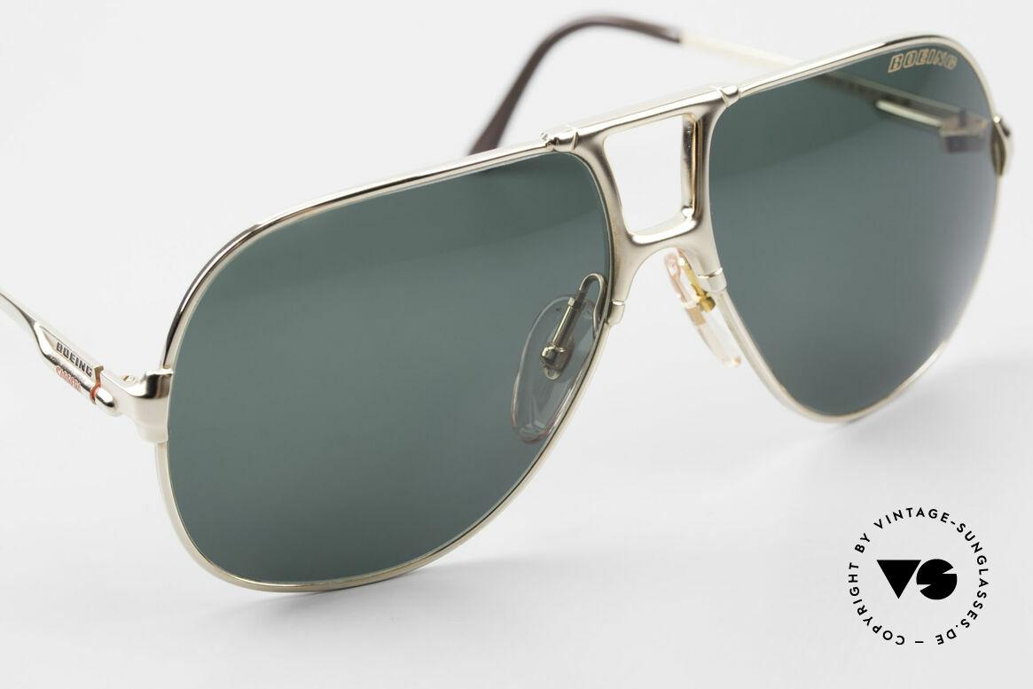 Boeing 5700 Große Alte 80er Piloten Brille, ungetragen (wie alle unsere Boeing Pilotenbrillen), Passend für Herren
