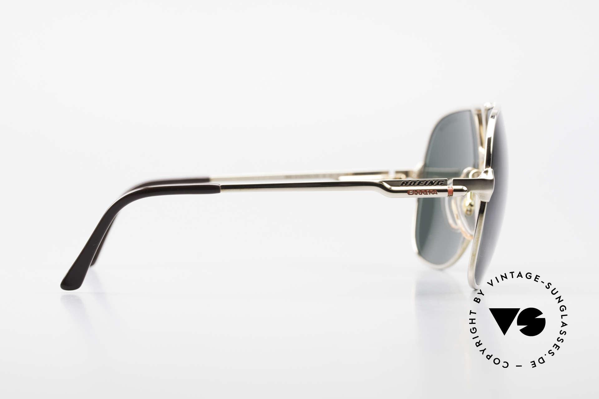 Boeing 5700 Große Alte 80er Piloten Brille, KEINE Retrobrille, sondern ein 30J. altes Original!, Passend für Herren
