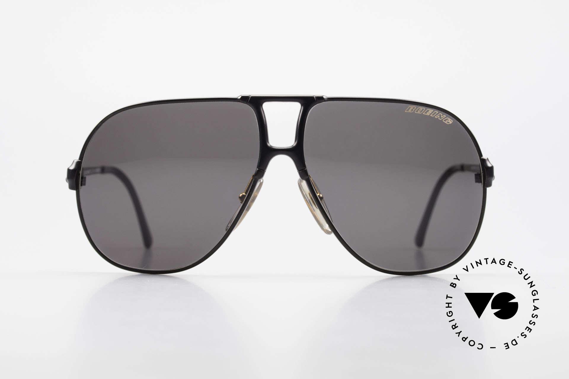Boeing 5700 Vintage 80er Piloten Brille, von Carrera eigens für Boeing-Piloten angefertigt, Passend für Herren und Damen