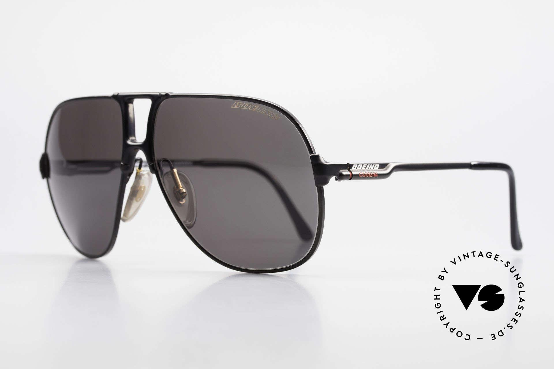 Boeing 5700 Vintage 80er Piloten Brille, geniale Kombination von Funktionalität & Design, Passend für Herren und Damen