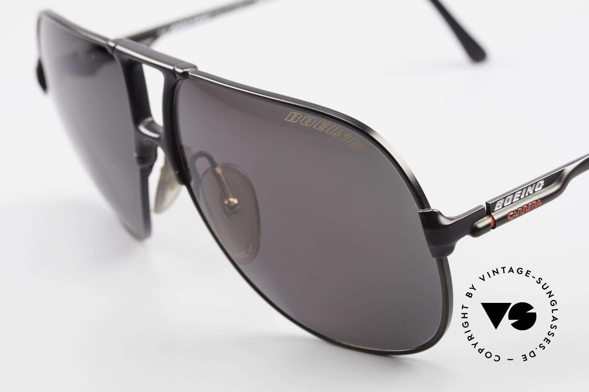 Boeing 5700 Vintage 80er Piloten Brille, 60/12 Gr. 'small' in den 80ern = medium Gr. heute, Passend für Herren und Damen