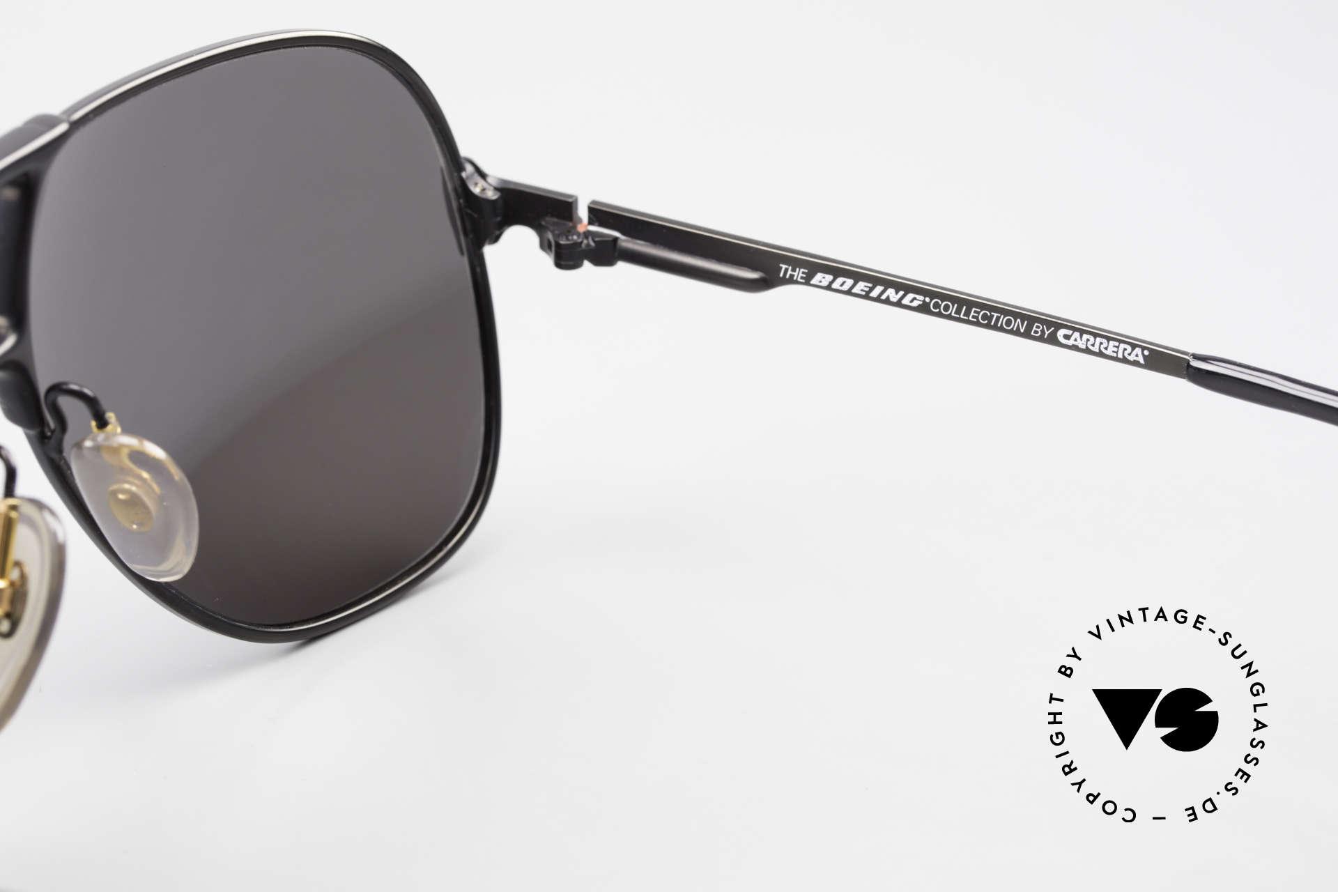 Boeing 5700 Vintage 80er Piloten Brille, Größe: medium, Passend für Herren und Damen