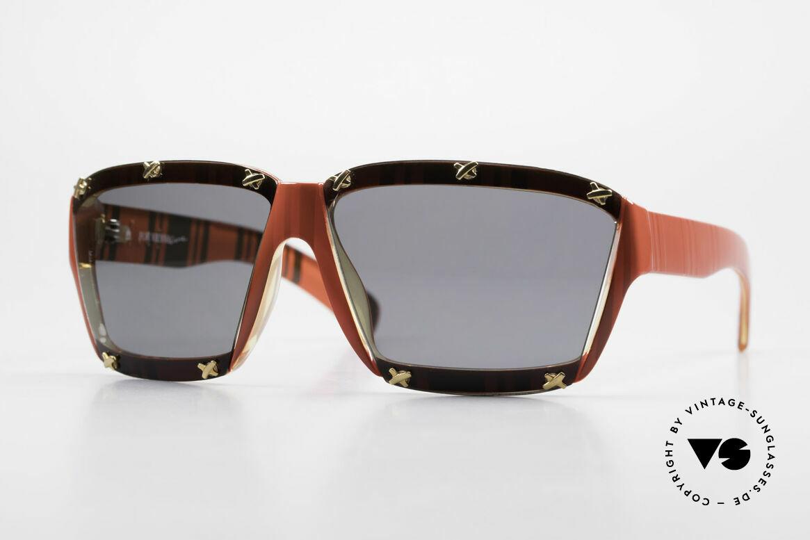 Paloma Picasso 3702 No Retro Sonnenbrille Damen, Damen Designer-Sonnenbrille von Paloma Picasso, Passend für Damen