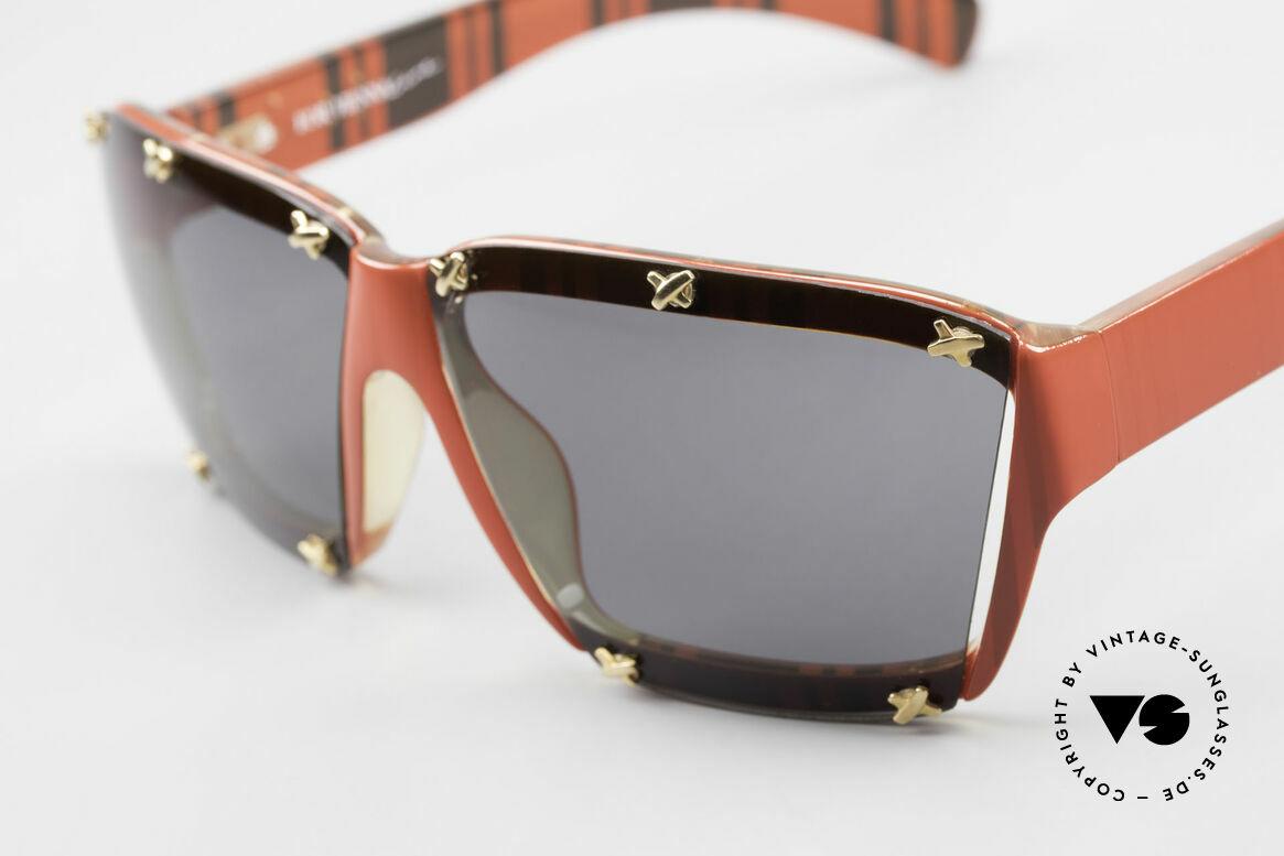 Paloma Picasso 3702 No Retro Sonnenbrille Damen, von 1990, doch das Optyl-Material glänzt wie neu, Passend für Damen