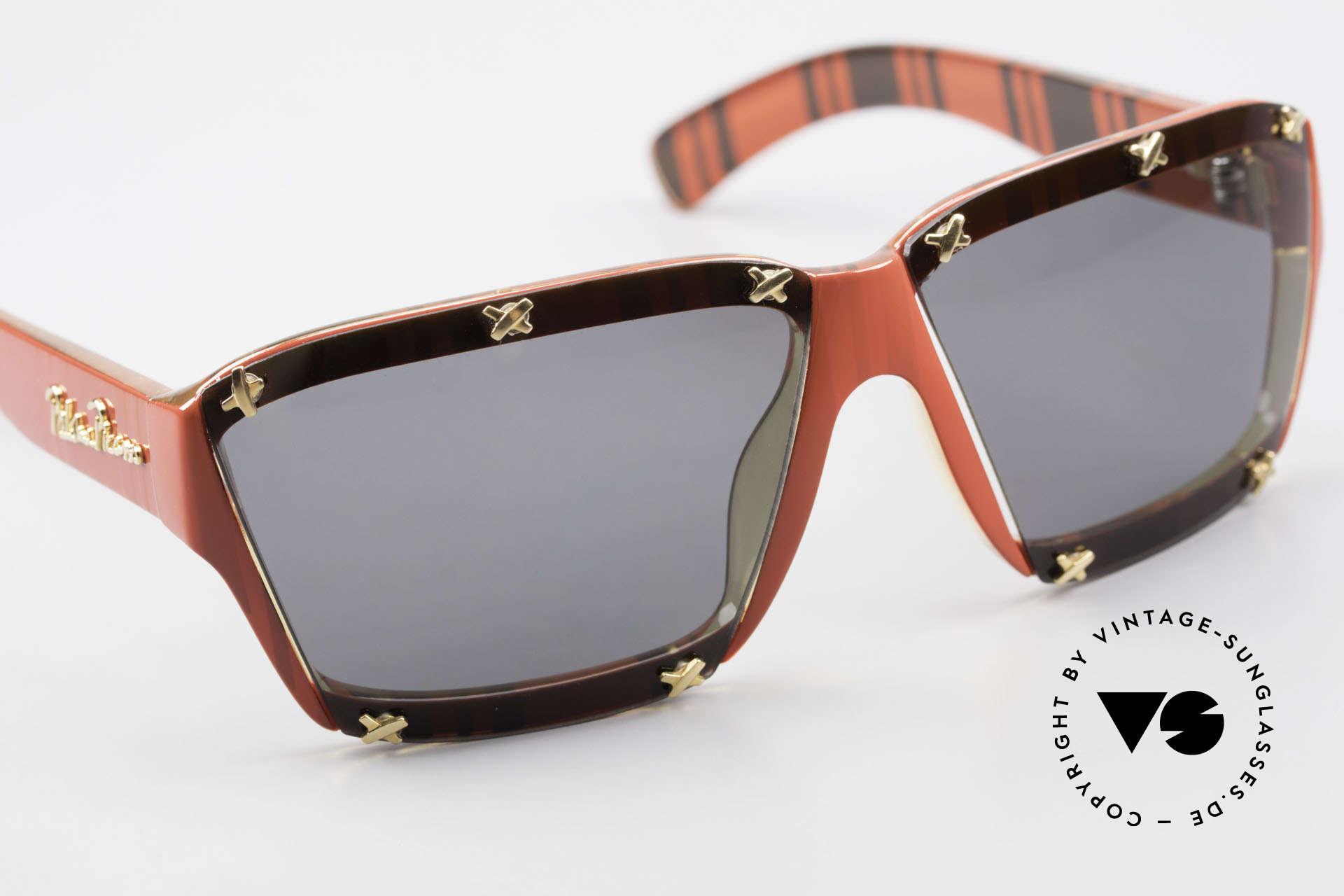 Paloma Picasso 3702 No Retro Sonnenbrille Damen, ungetragen; wie alle unsere 90er vintage 'Schätze', Passend für Damen
