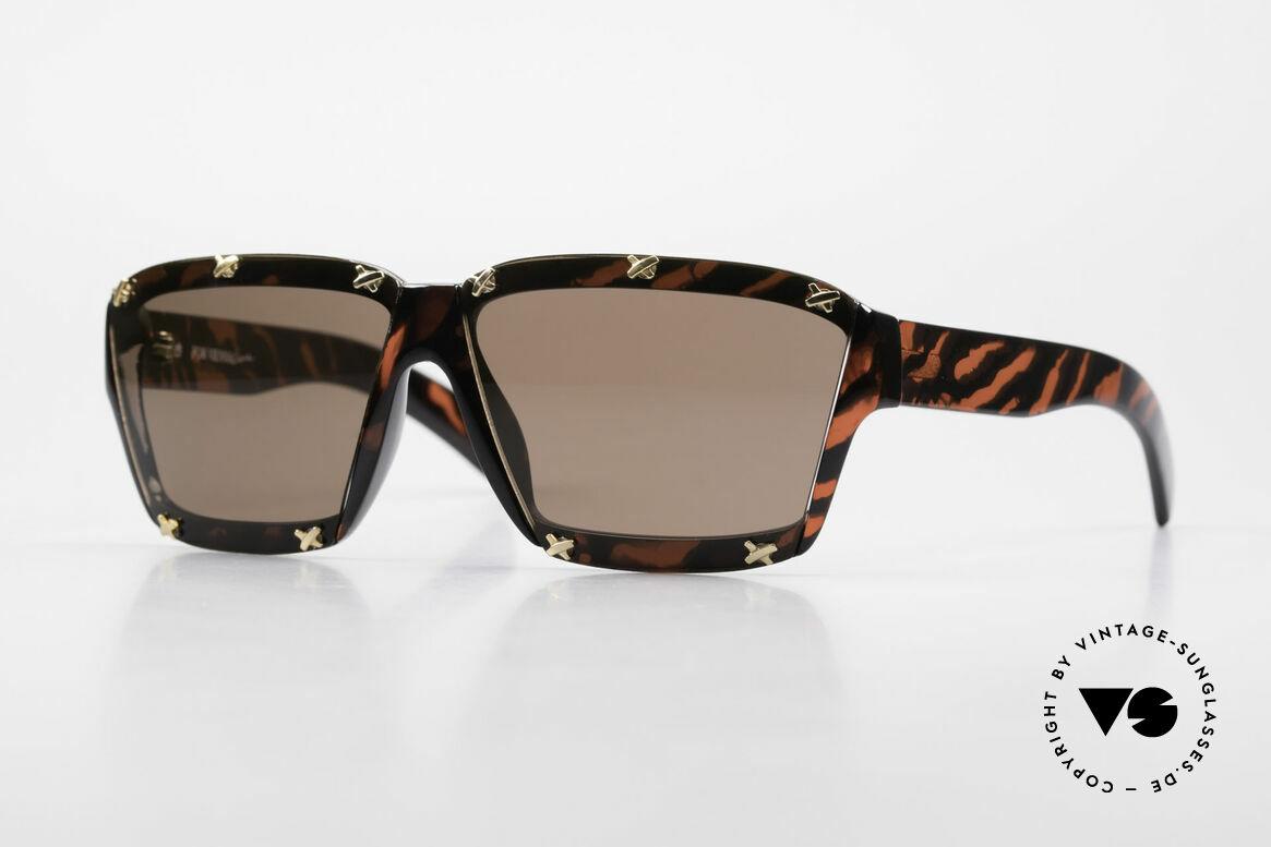 Paloma Picasso 3702 Vintage Sonnenbrille Original, Damen Designer-Sonnenbrille von Paloma Picasso, Passend für Damen