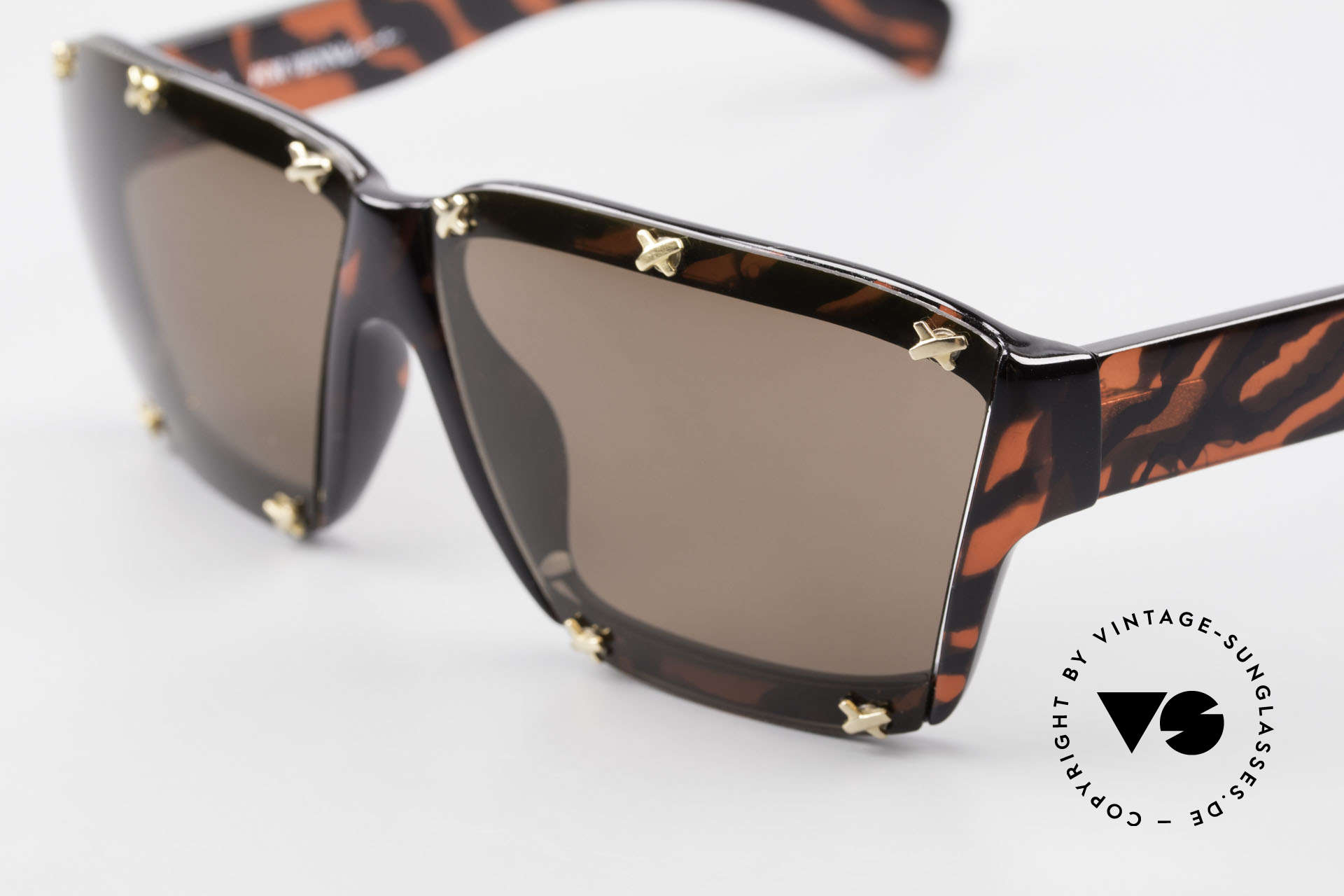 Paloma Picasso 3702 Vintage Sonnenbrille Original, von 1990, doch das Optyl-Material glänzt wie neu, Passend für Damen