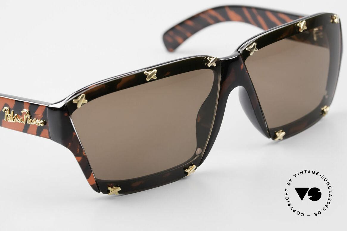 Paloma Picasso 3702 Vintage Sonnenbrille Original, ungetragen; wie alle unsere 90er vintage 'Schätze', Passend für Damen