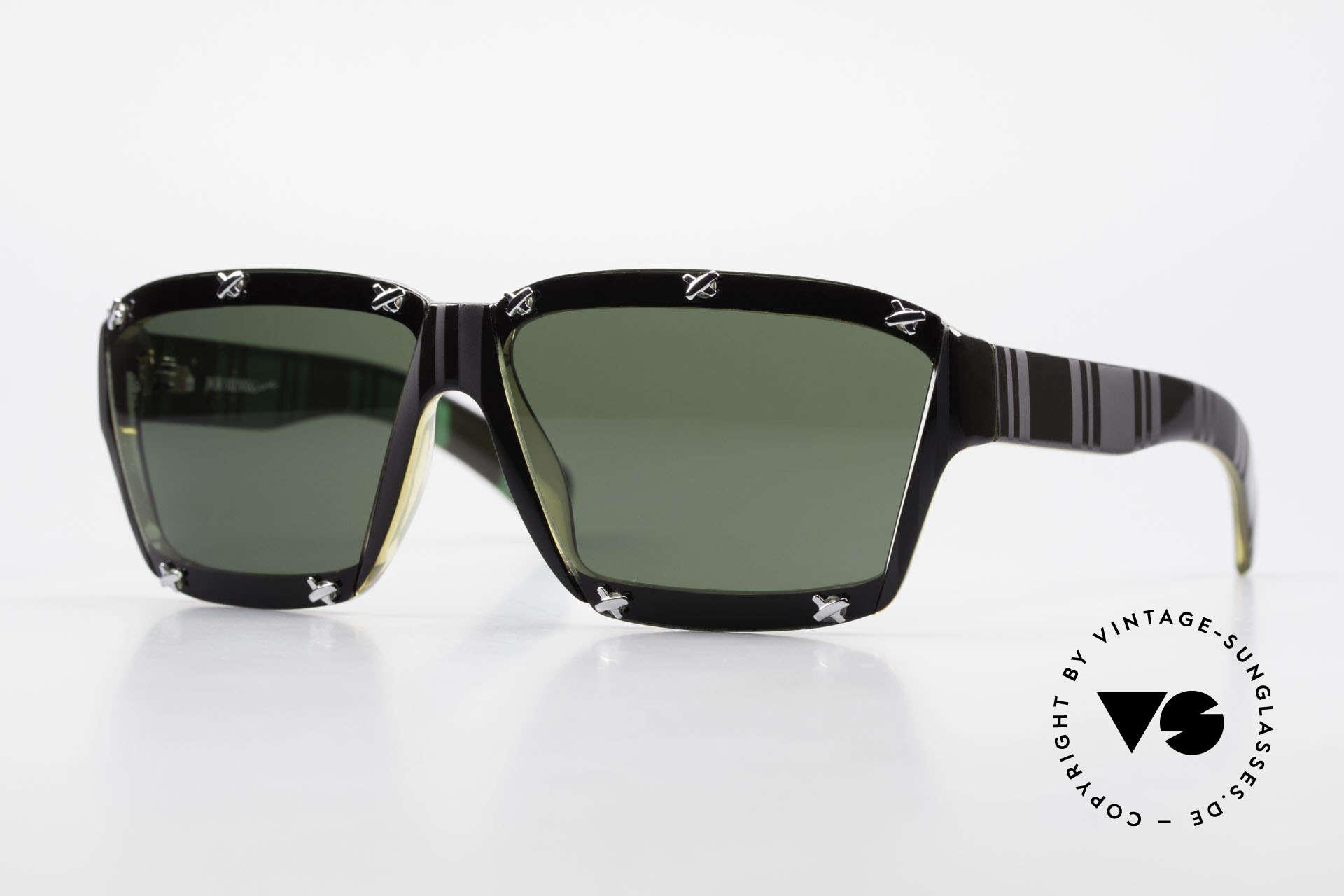 Paloma Picasso 3702 Vintage Sonnenbrille Von 1990, Damen Designer-Sonnenbrille von Paloma Picasso, Passend für Damen