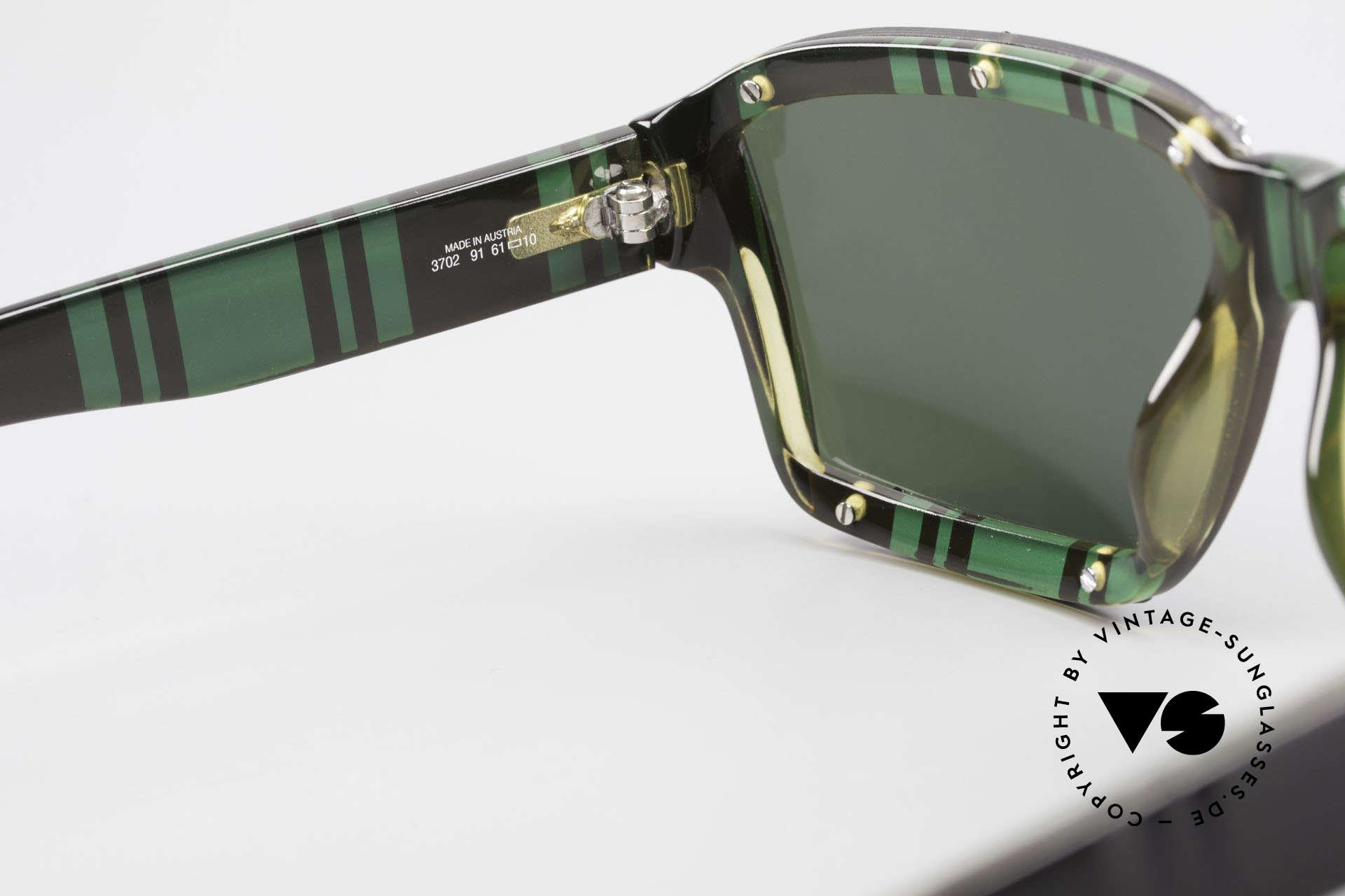 Paloma Picasso 3702 Vintage Sonnenbrille Von 1990, Größe: medium, Passend für Damen
