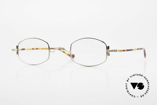 Lunor XA 03 Lunor Brille No Retro Vintage Details