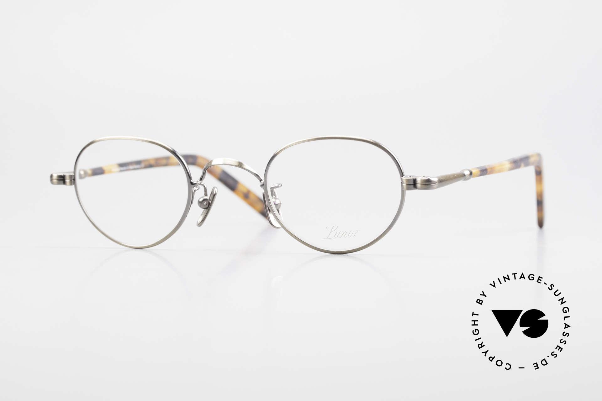 Lunor VA 103 Lunor Brille Altes Original, alte LUNOR Brille aus der 2012er Brillenkollektion, Passend für Herren und Damen