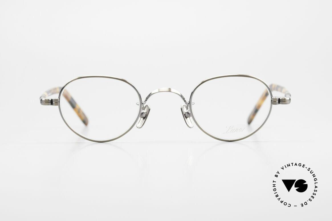 Lunor VA 103 Lunor Brille Altes Original, Lunor ist ehrliches Handwerk mit Liebe zum Detail, Passend für Herren und Damen