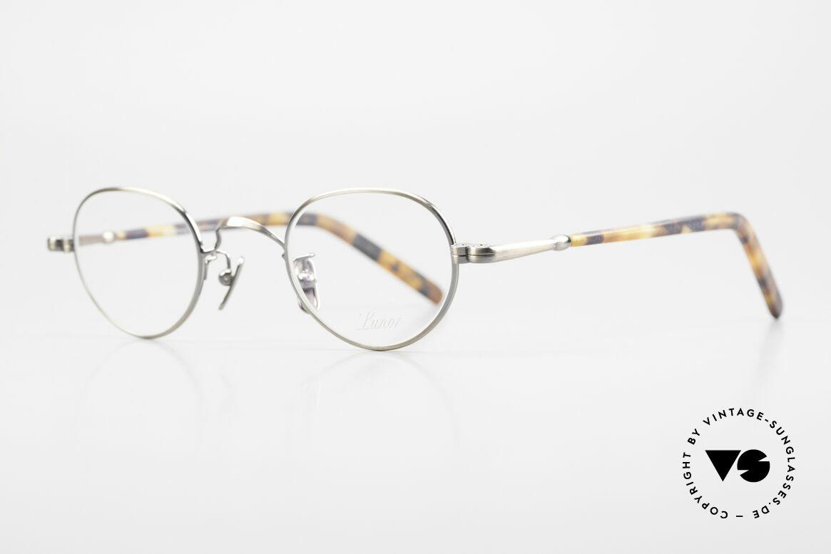 Lunor VA 103 Lunor Brille Altes Original, ohne große Logos; stattdessen mit zeitloser Eleganz, Passend für Herren und Damen
