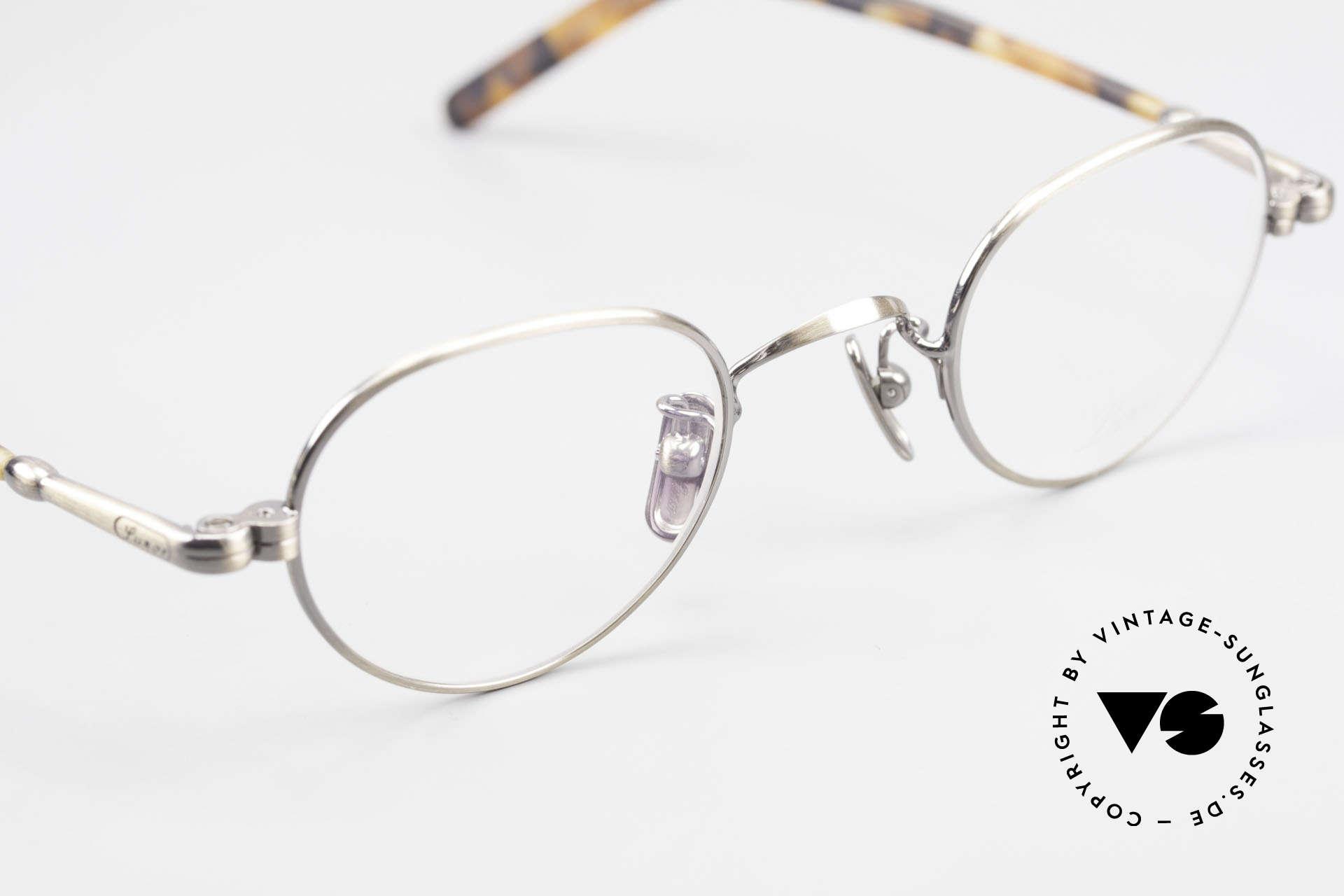 Lunor VA 103 Lunor Brille Altes Original, Nasenpads aus reinem Titan; in SMALL Größe 40/23, Passend für Herren und Damen