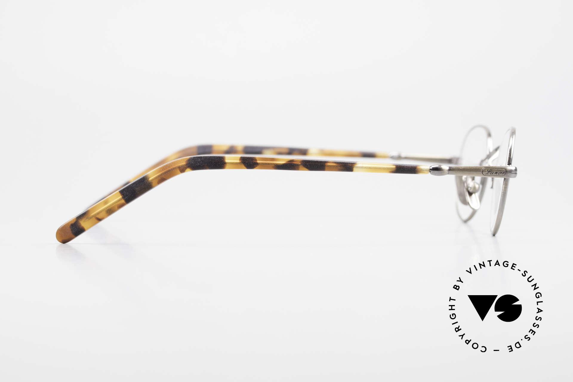 Lunor VA 103 Lunor Brille Altes Original, ungetragen (wie alle unsere Lunor Brillenklassiker), Passend für Herren und Damen