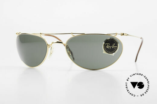 Ray Ban Deco Metals Wrap Alte Bausch Lomb Ray-Ban USA Details