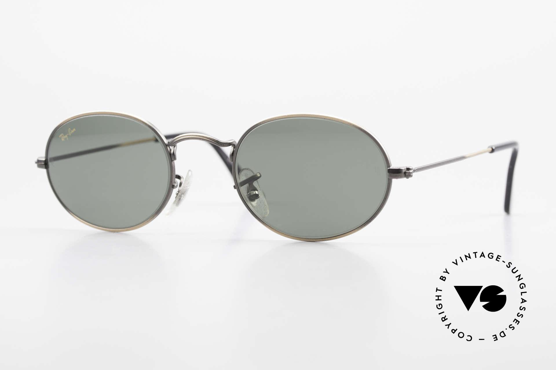 """Ray Ban Classic Style I Ovale Ray-Ban Sonnenbrille, Modell aus der alten Ray-Ban """"Classic Collection"""", Passend für Herren und Damen"""